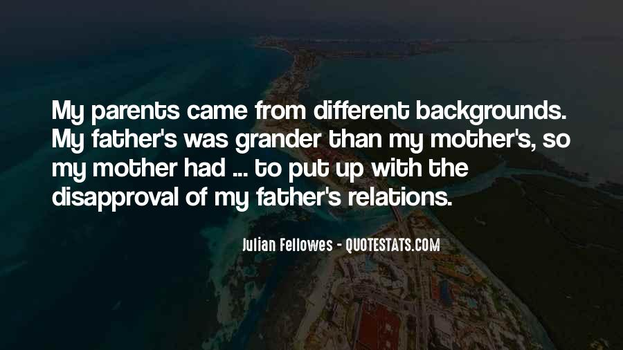 From Mother To Father Quotes #917941