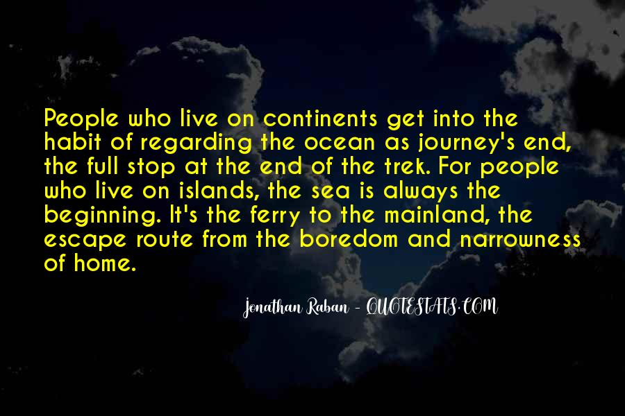 From The Sea Quotes #171360