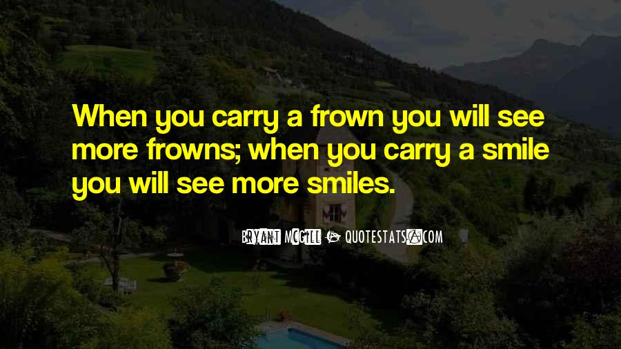 Frown Quotes #171840