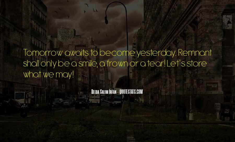 Frown Quotes #549762