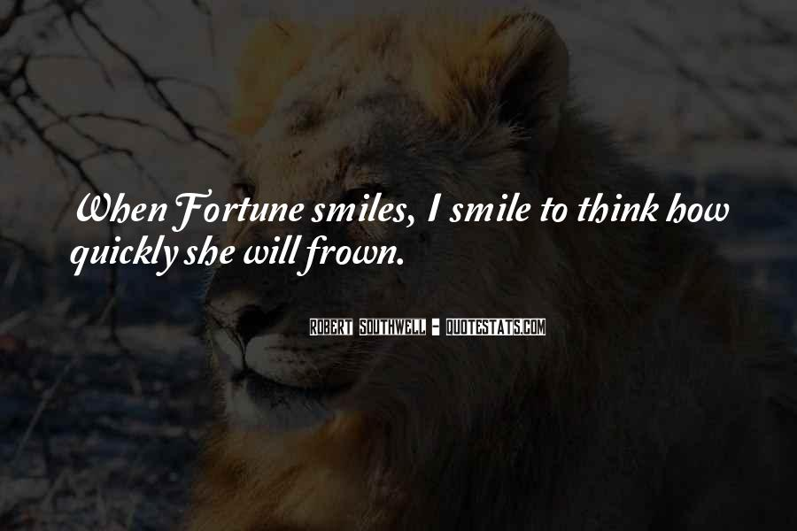 Frown Quotes #552503