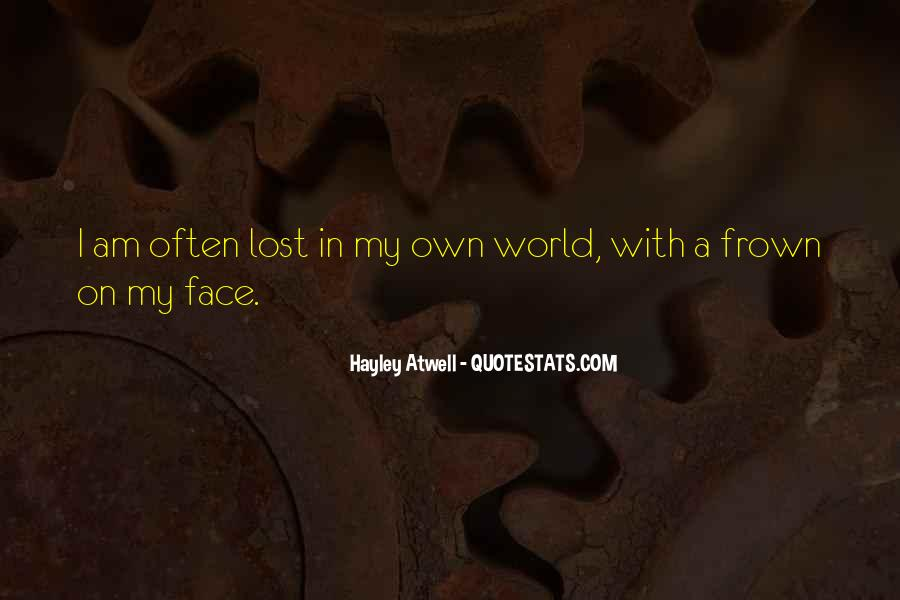 Frown Quotes #55426