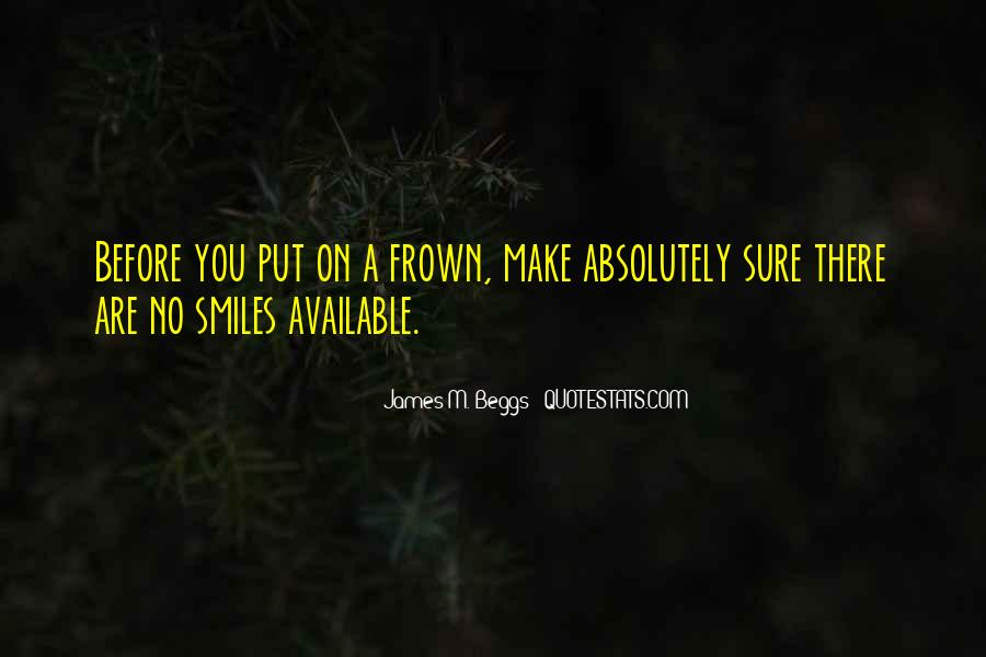 Frown Quotes #561938