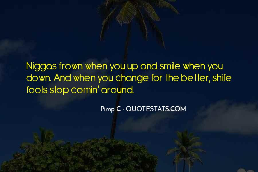 Frown Quotes #709300