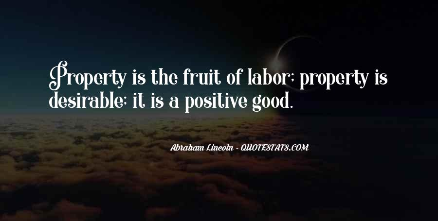 Fruit Of My Labor Quotes #18951