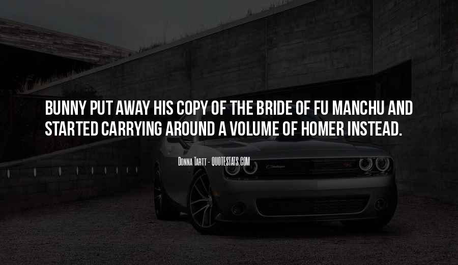 Fu Manchu Quotes #90293