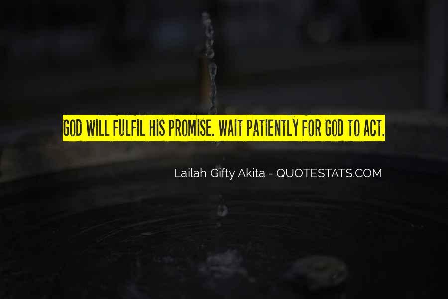 Fulfil Wish Quotes #236655