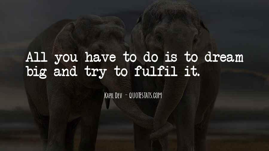 Fulfil Wish Quotes #487642