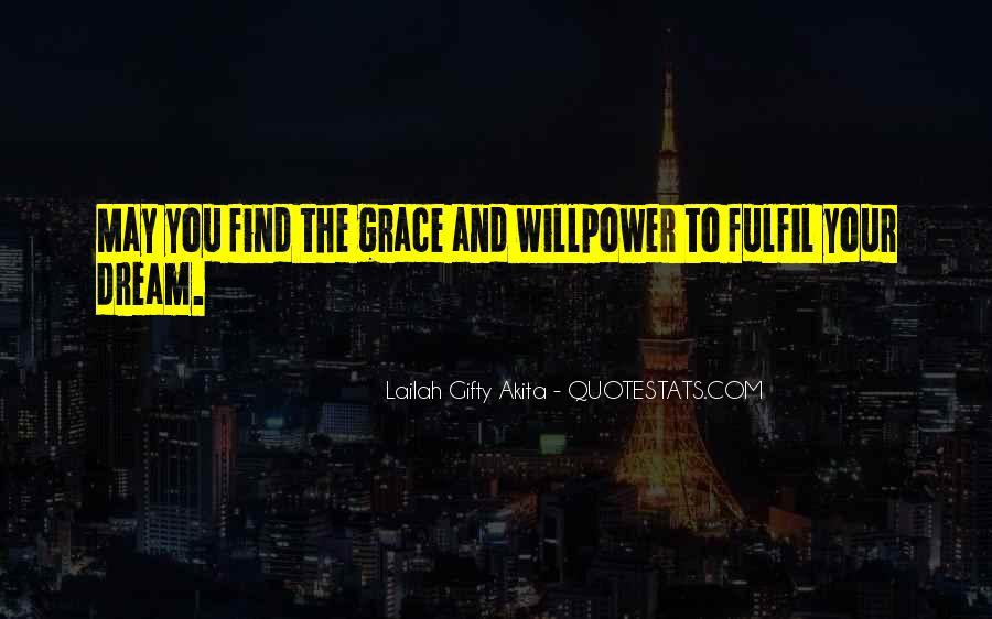Fulfil Wish Quotes #503661