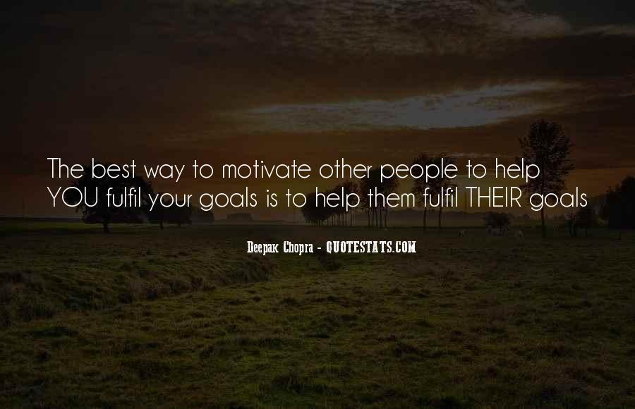 Fulfil Wish Quotes #534094