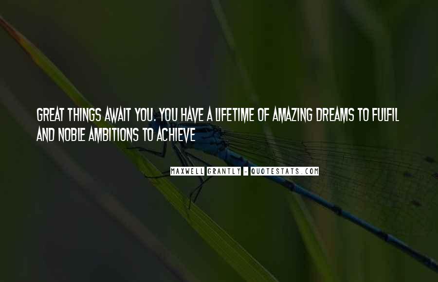 Fulfil Wish Quotes #779380