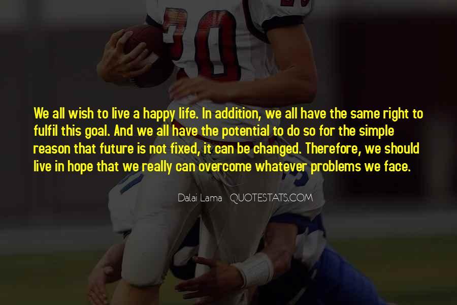 Fulfil Wish Quotes #82383