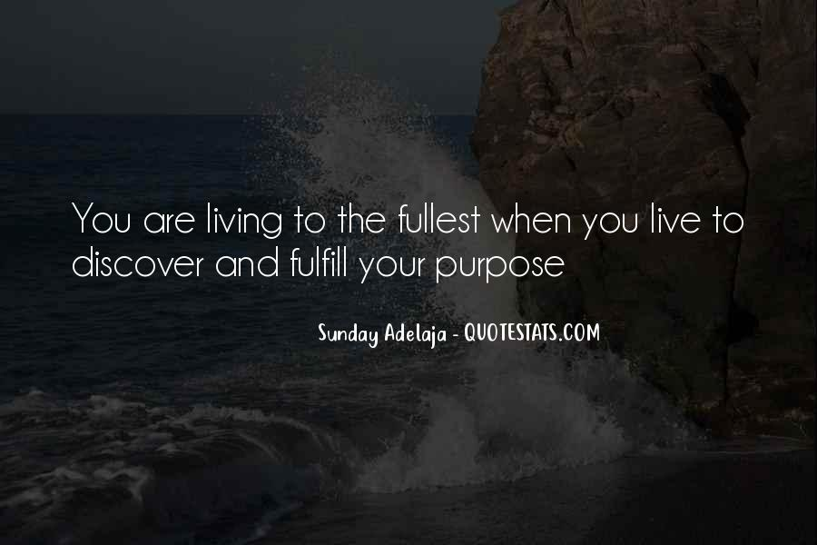 Fulfill Love Quotes #1144063