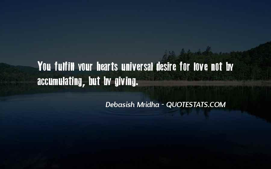 Fulfill Love Quotes #1453391