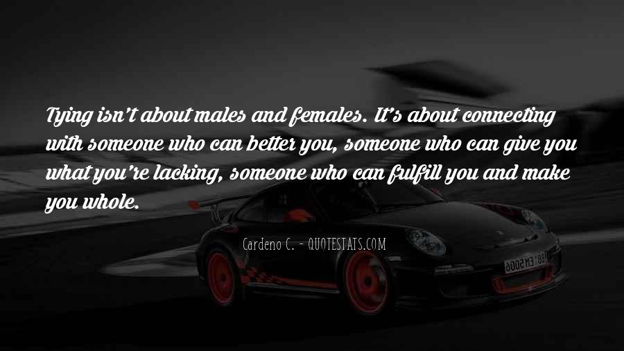 Fulfill Love Quotes #1492419