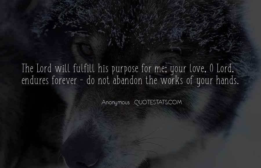 Fulfill Love Quotes #226503