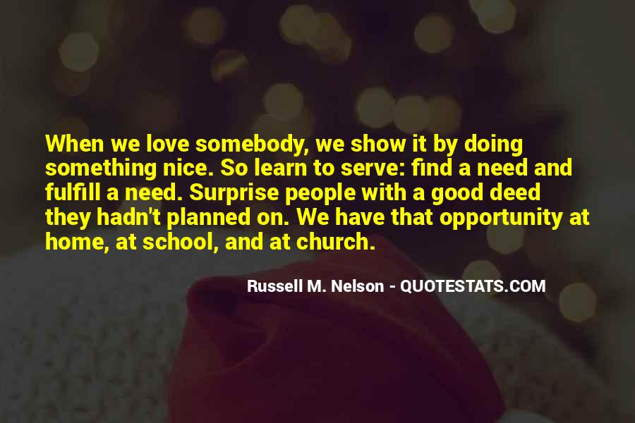 Fulfill Love Quotes #438746