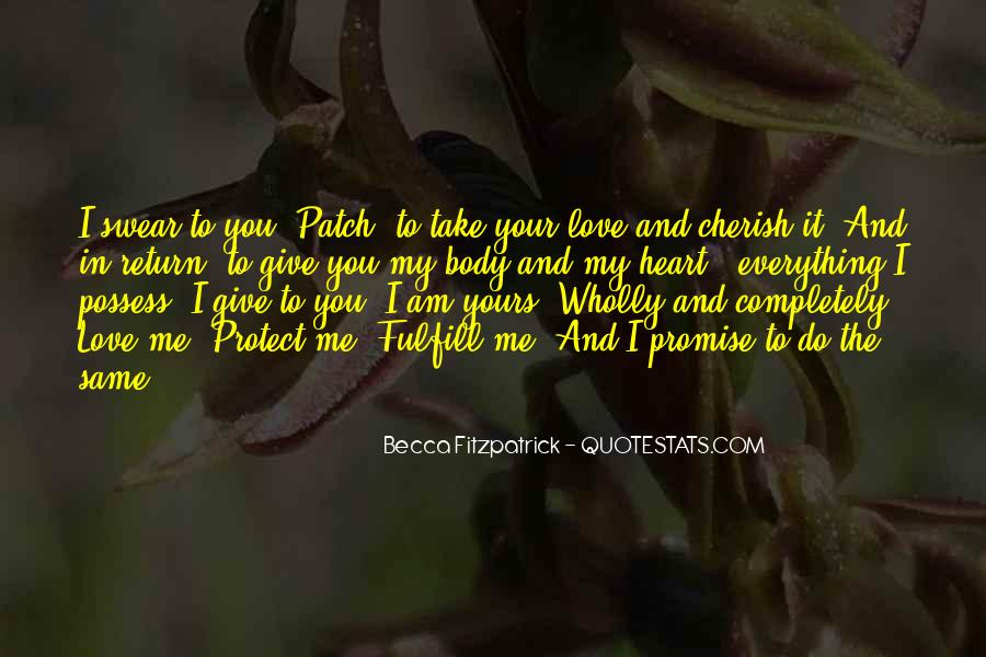 Fulfill Love Quotes #440174