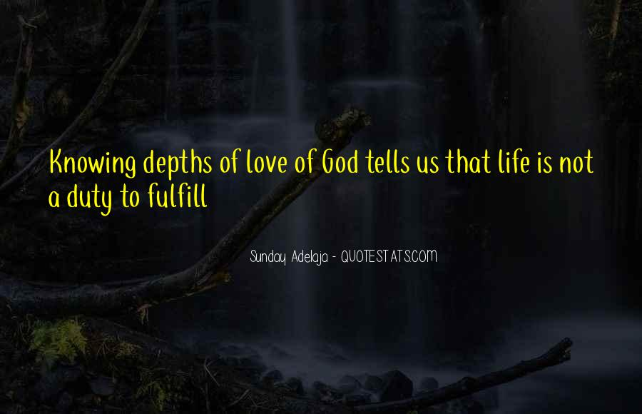 Fulfill Love Quotes #632214