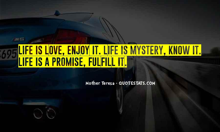 Fulfill Love Quotes #795340