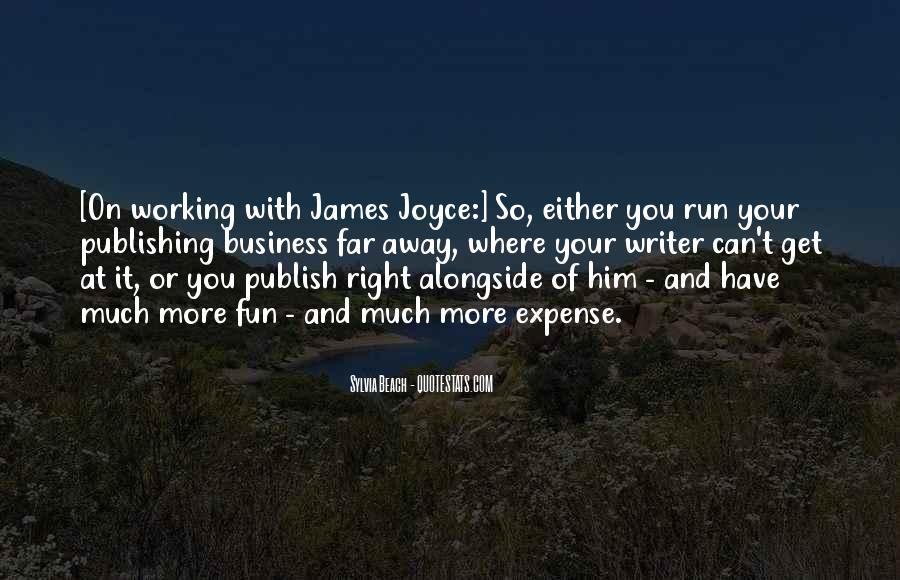 Fun And Run Quotes #1081664