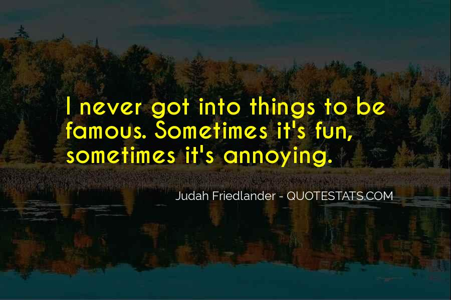 Fun Things Quotes #95410