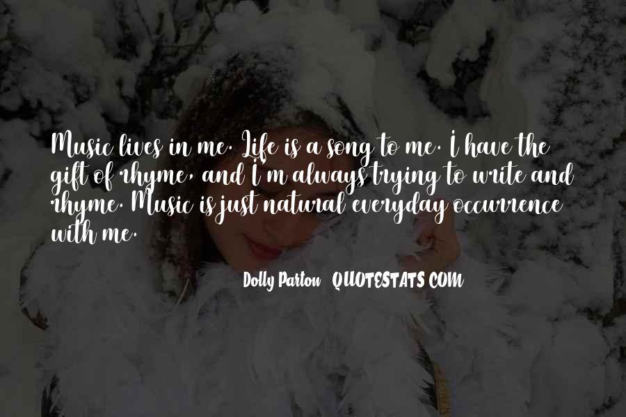 Quotes About The Gift Of Music #1008758