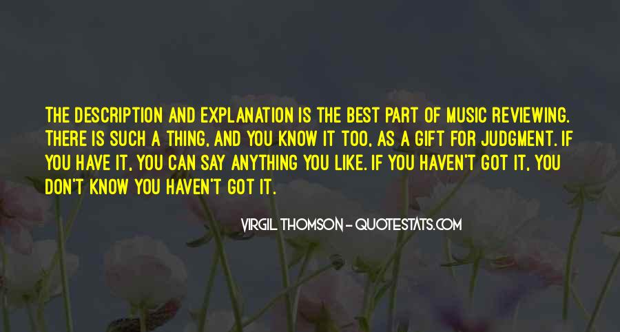 Quotes About The Gift Of Music #1192277
