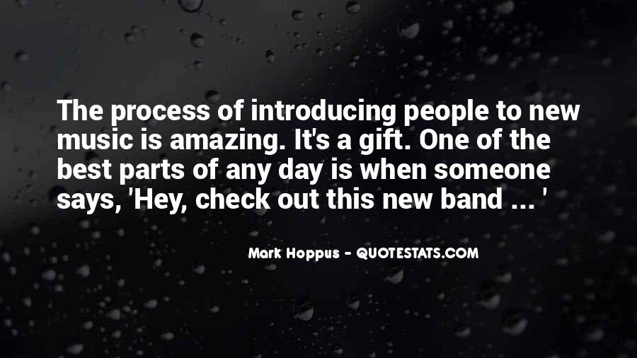 Quotes About The Gift Of Music #119874