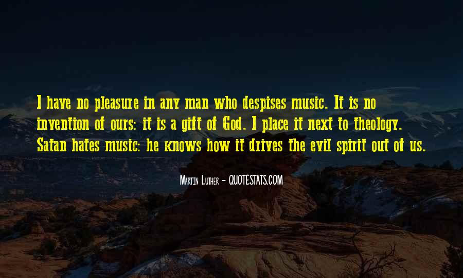 Quotes About The Gift Of Music #1211481