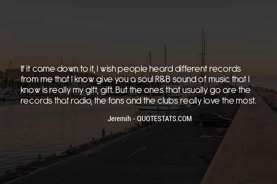 Quotes About The Gift Of Music #1233462