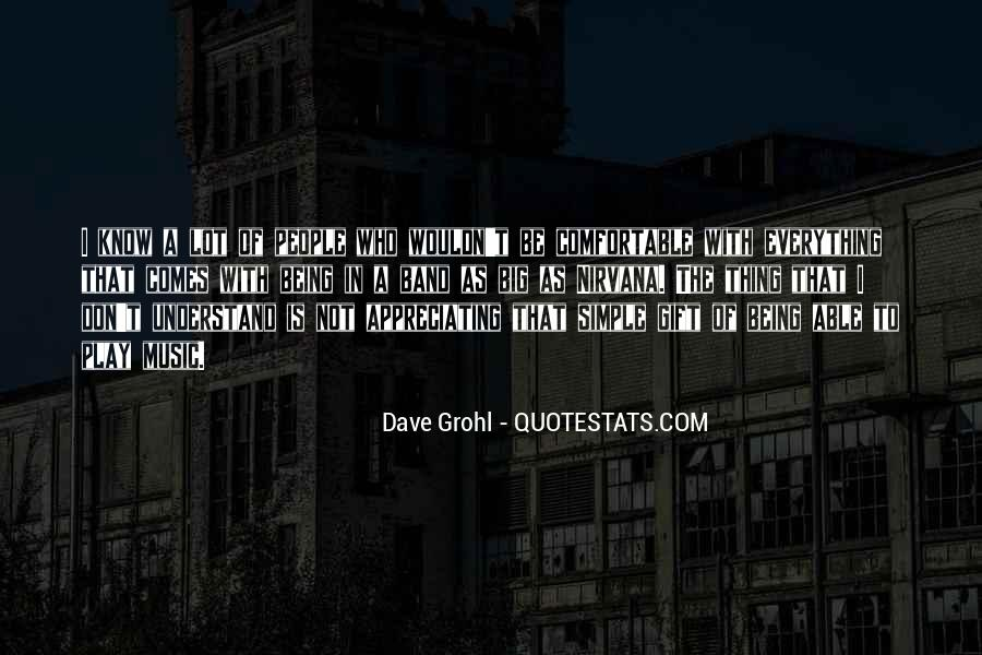 Quotes About The Gift Of Music #1281496