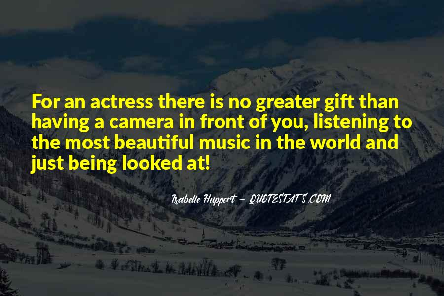 Quotes About The Gift Of Music #1333289