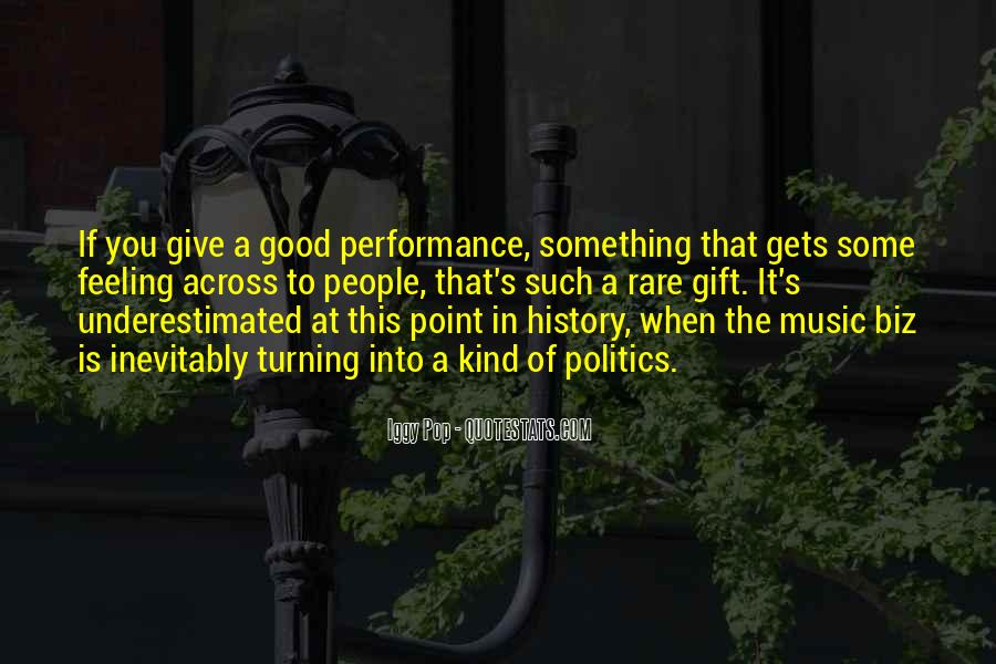 Quotes About The Gift Of Music #1406077