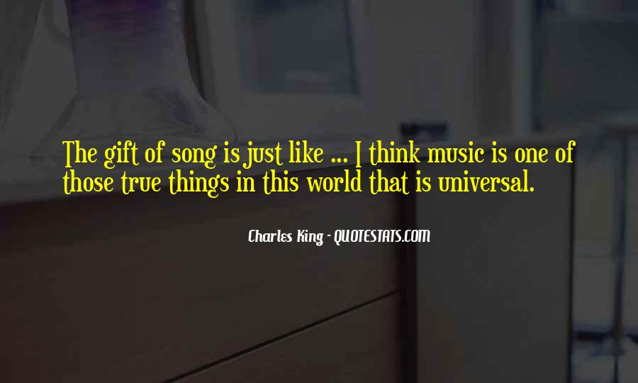 Quotes About The Gift Of Music #1420413