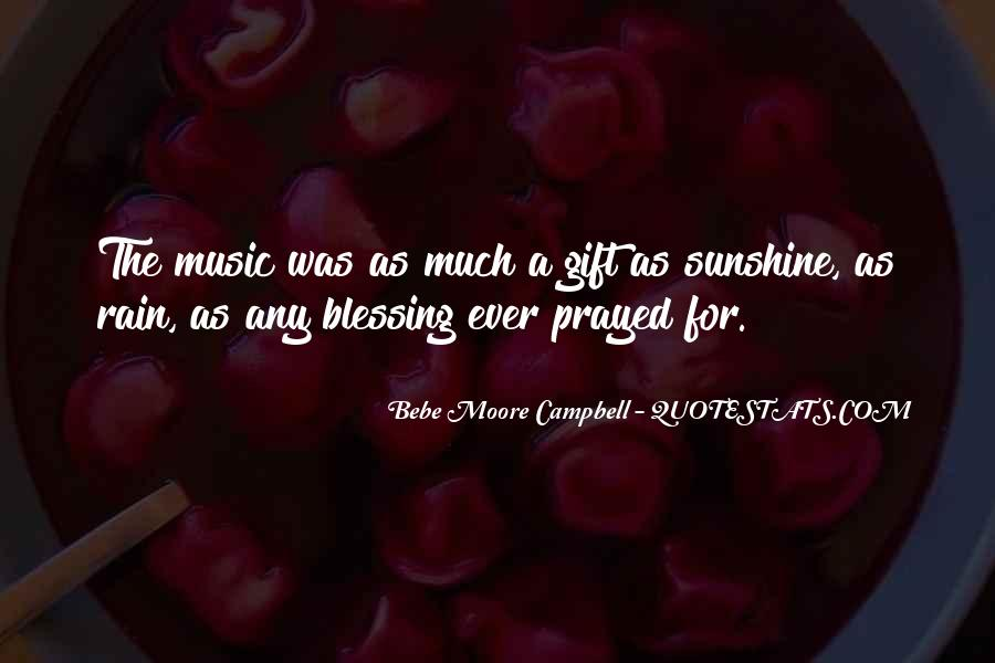 Quotes About The Gift Of Music #1451744