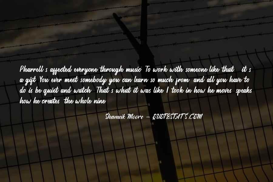 Quotes About The Gift Of Music #1452588