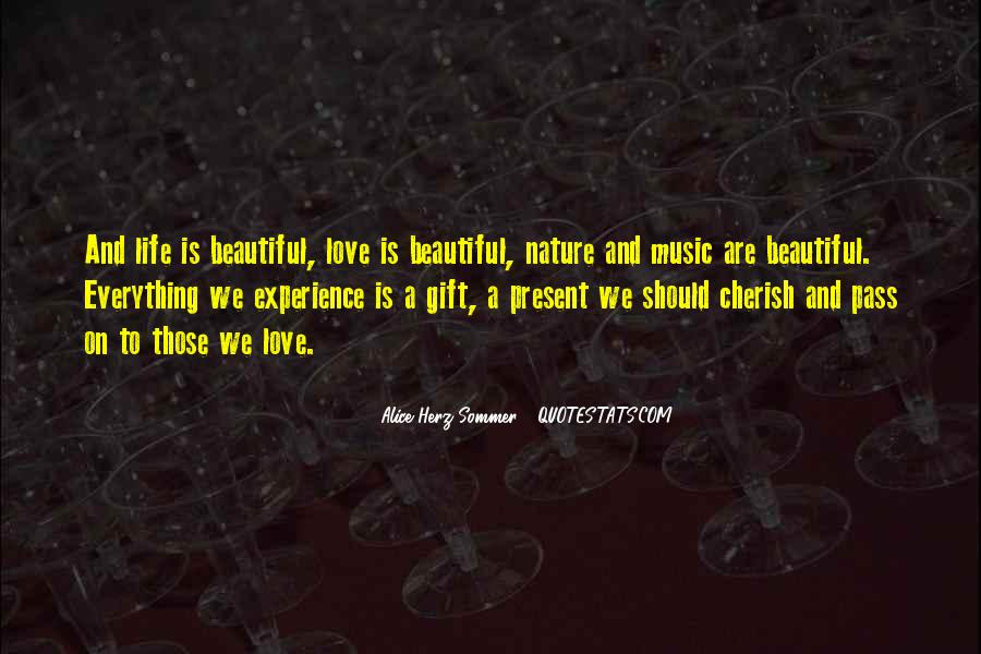 Quotes About The Gift Of Music #1509031