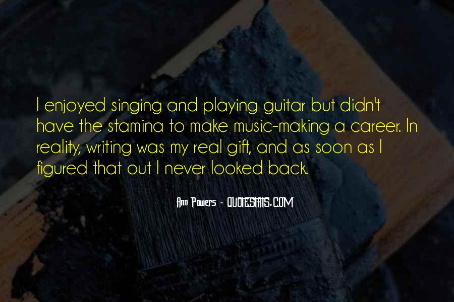 Quotes About The Gift Of Music #1527595