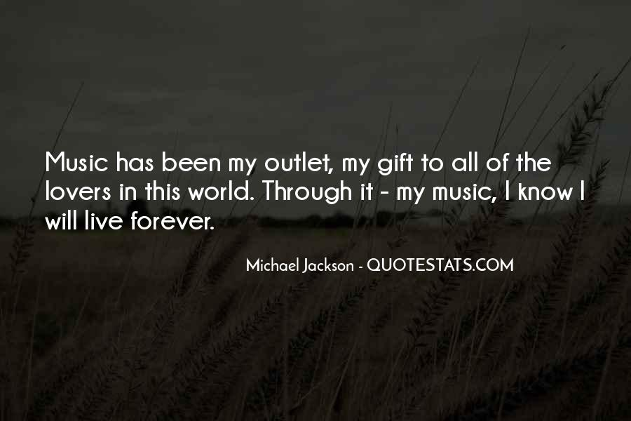 Quotes About The Gift Of Music #1571376