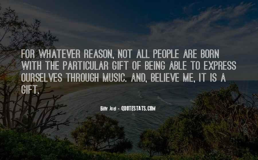 Quotes About The Gift Of Music #160022