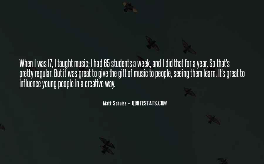 Quotes About The Gift Of Music #547926