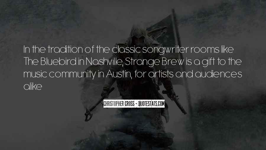 Quotes About The Gift Of Music #617376