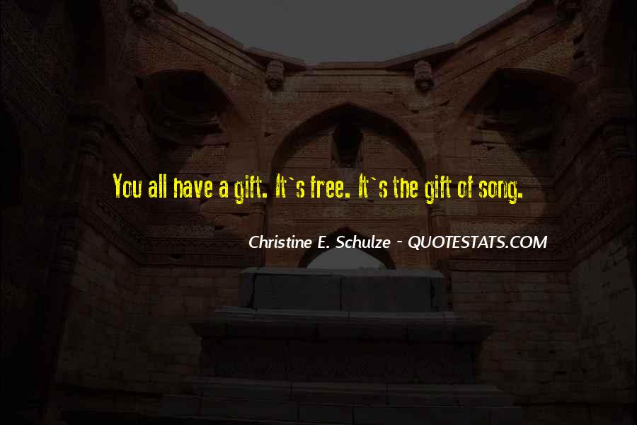 Quotes About The Gift Of Music #623357