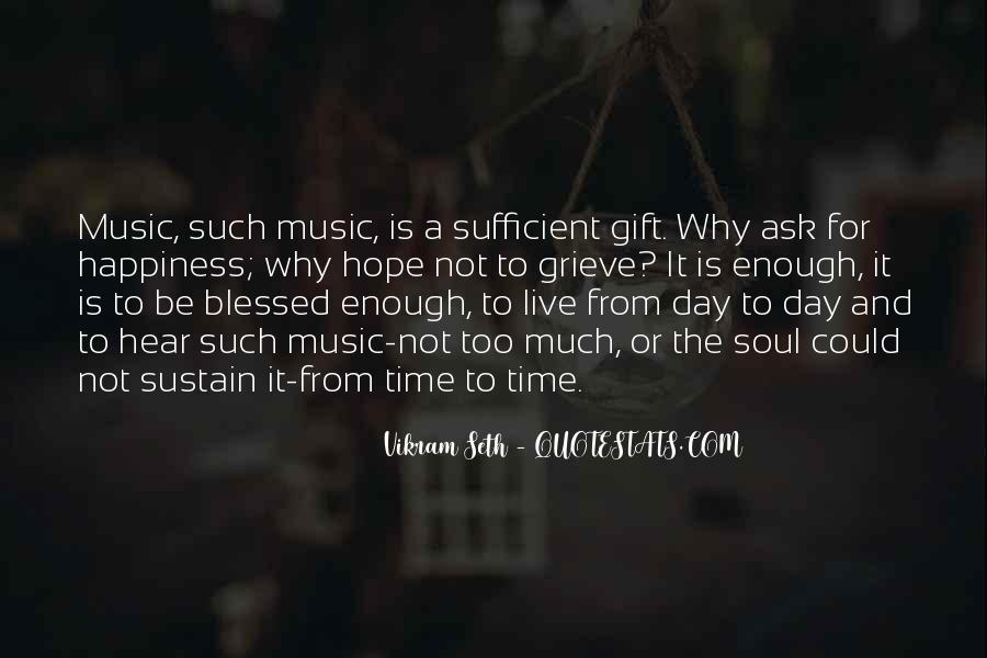 Quotes About The Gift Of Music #675244