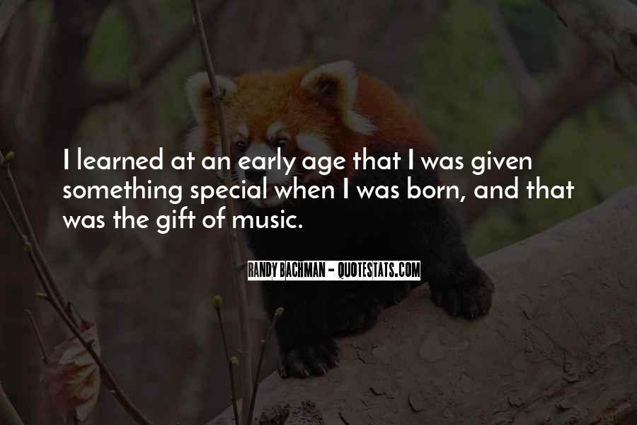 Quotes About The Gift Of Music #681734