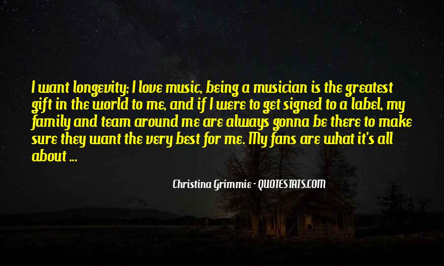Quotes About The Gift Of Music #690227