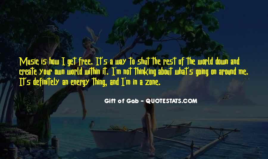 Quotes About The Gift Of Music #705183