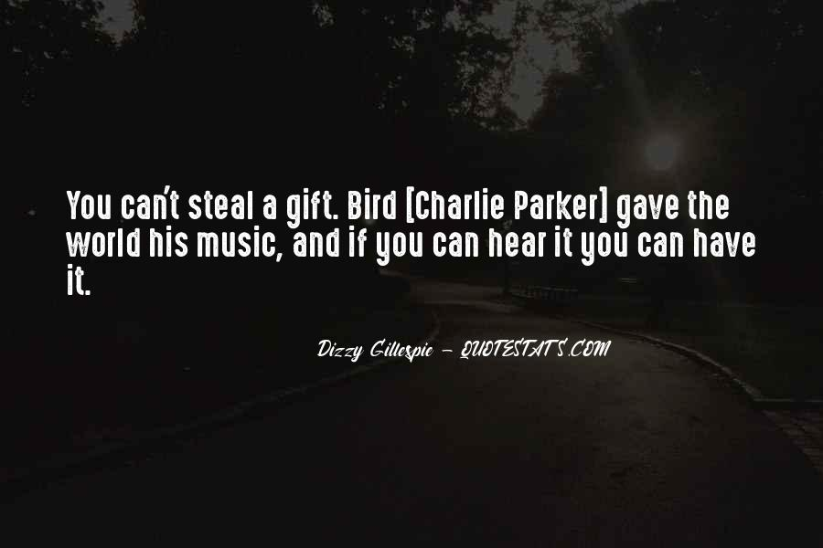 Quotes About The Gift Of Music #716672