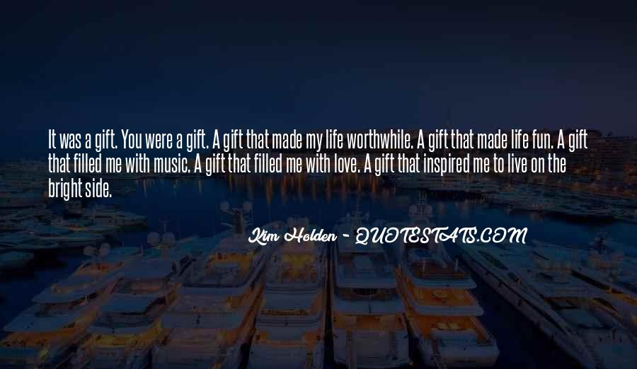 Quotes About The Gift Of Music #82492